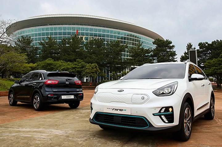 Kia'nın elektrikli SUV modeli 485 km menziliyle Avrupa pazarına giriyor