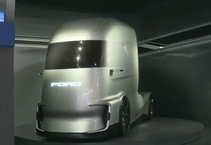 Ford Otosan'dan Tesla Semi'ye rakip elektrikli ve otonom tır: F-Vision