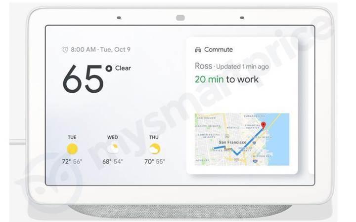 Dokunmatik ekranlı Google Home Hub akıllı hoparlör detaylandı