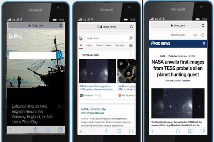 Bing mobil aramalarda AMP desteği sunmaya başladı