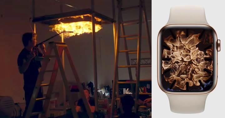 Apple Watch 4'ün kadranları bilgisayar efektiyle değil stüdyoda yapıldı [video]