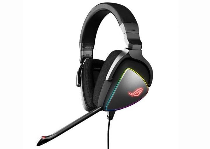 Asus'dan FPS oyunları için ROG Delta kulaklık serisi