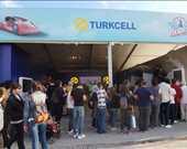 Turkcell standında çeşitli yarışmalar yapıldı ve ödül dağıtıldı