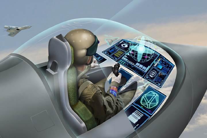 BAE Systems, kokpiti sanal ekrana taşıyan ''giyilebilir kokpit'' geliştiriyor