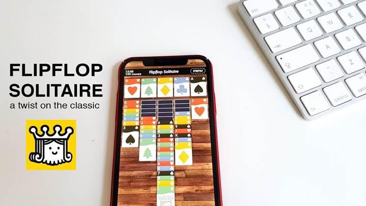 Zach Gage'nin popüler Flip Flop Solitaire oyunu Android'e geldi