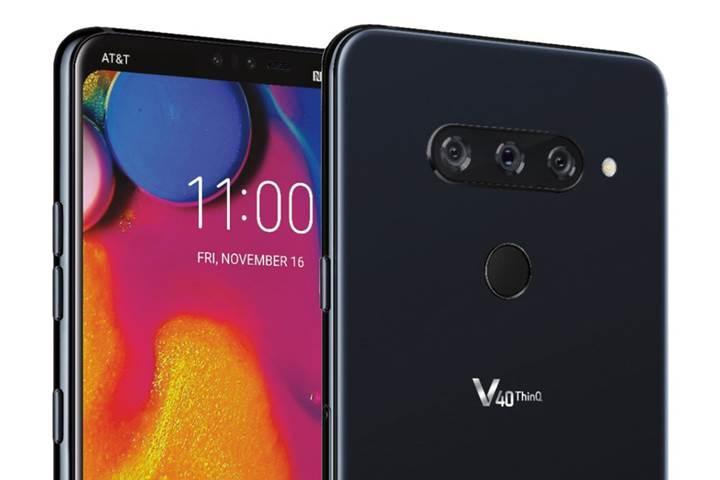 LG V40 ThinQ'nun basın görselleri sızdırıldı