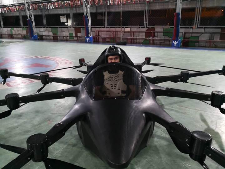 Uçan spor araba Koncepto Milenya, halka açık ilk uçuşunu tamamladı
