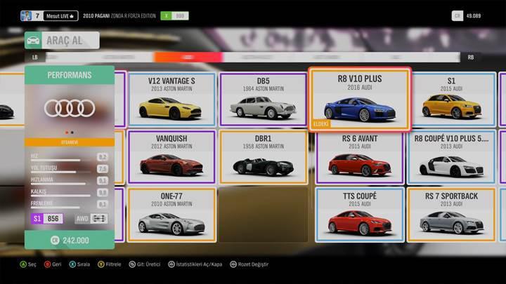 4K Forza Horizon 4 Video İnceleme