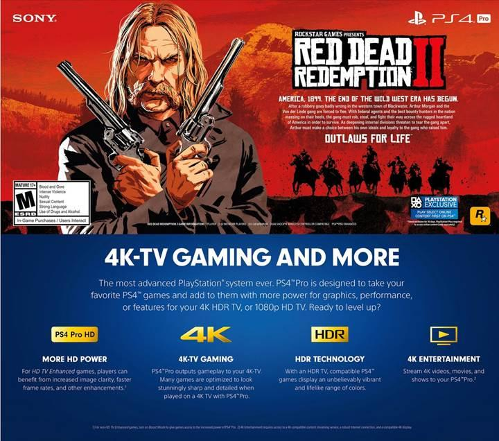Red Dead Redemption 2, tam 105 gb depolama alanı isteyecek