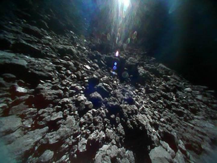 Japonya'nın göktaşına iniş yapan uzay aracından inanılmaz fotoğraflar