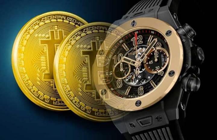 İsviçreli saat üreticis Hublot'tan Bitcoin'in 10. yılına özel saat