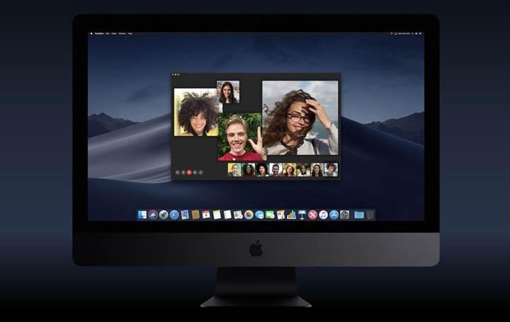 Grup FaceTime özelliği macOS 10.14.1 sürümünde geri döndü