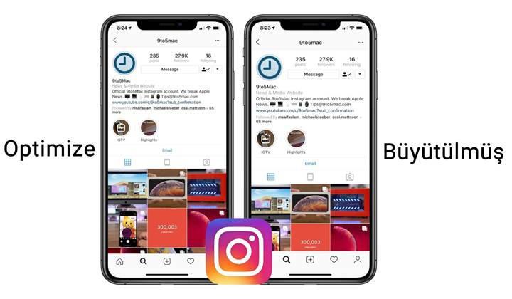Instagram'a, iPhone Xs Max ve iPhone XR ekran çözünürlüğü desteği geldi