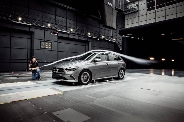 2019 Mercedes B Serisi tanıtıldı; sınıfının en aerodinamik otomobili