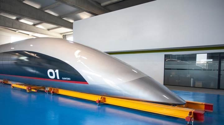 Saatte 1200 kilometre hızla yolcu taşıyacak kapsül tanıtıldı: Quintero One