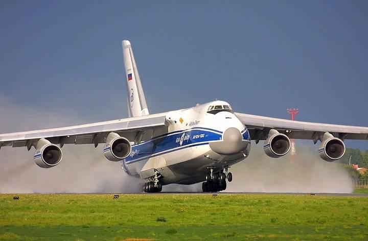 Rusya, S-300'leri dünyanın en büyük askeri nakliye uçağı ile taşıdı