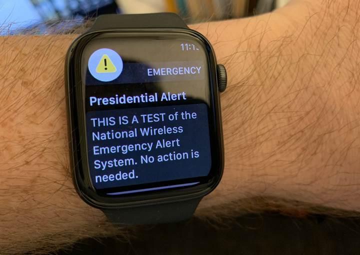 ABD ''acil durum uyarı mesajını'' test etti