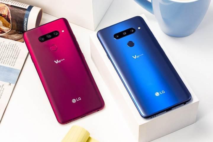 Beş kameralı LG V40 ThinQ tanıtıldı: İşte özellikleri ve fiyatı