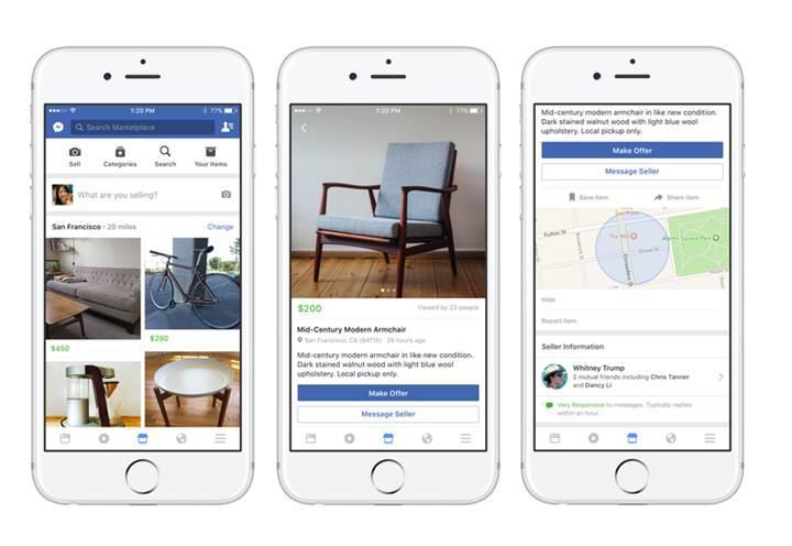 Facebook Marketplace yapay zekâ ile güçleniyor