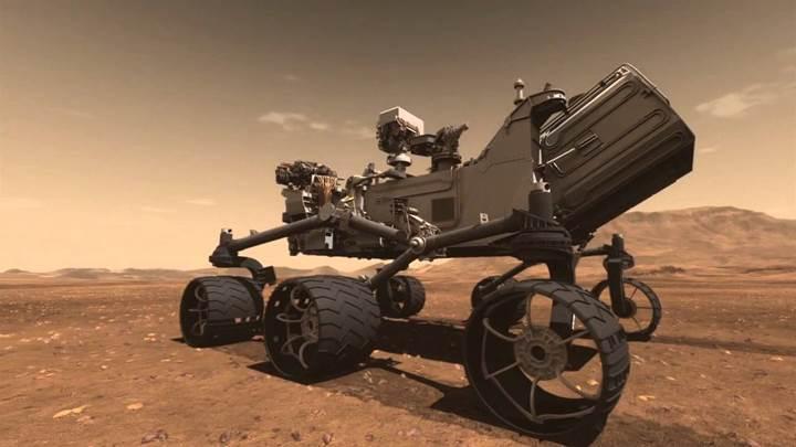 NASA'nın uzay aracı Curiosity, ''ikinci beynini'' kullanmaya başladı