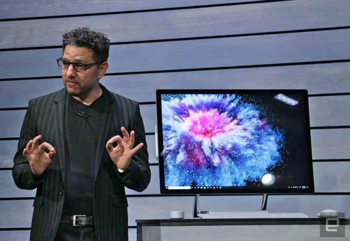 En hızlı Surface cihazı Surface Studio 2 duyuruldu