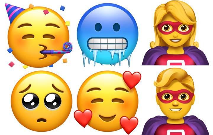 IOS 12.1 yepyeni 70 emoji ile birlikte geldi