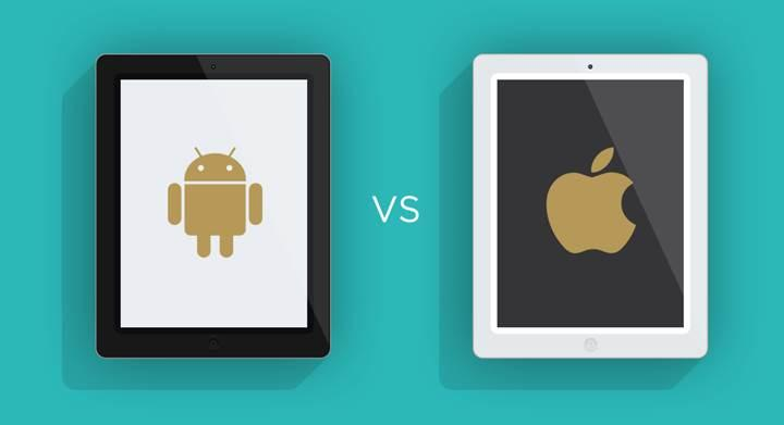 Tablet sevkiyatları düşüşte, iPad ailesi yükselişte