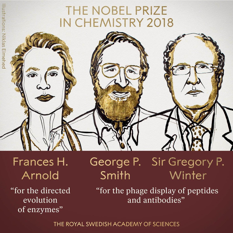 2018 Nobel Kimya Ödülü,