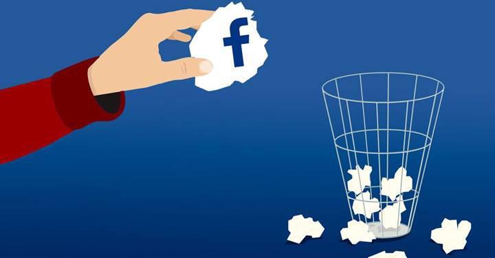 Facebook hesap silme süresini 30 güne çıkardı