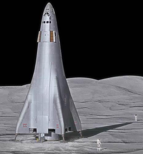 Lockheed Martin insan taşıyabilen ve tekrar kullanılabilir Ay'a gidecek uzay aracı prototipini tanıttı