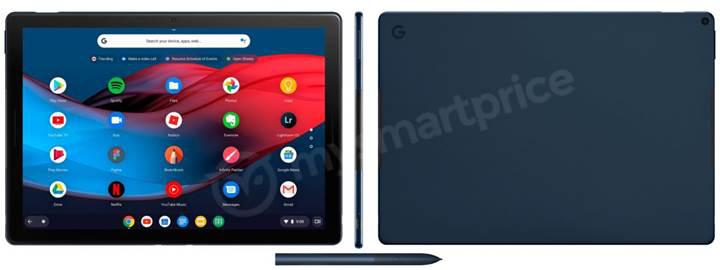 Google'ın iki gün sonra tanıtacağı Pixel Slate isimli tableti sızdırıldı