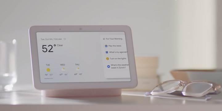 Google'ın akıllı ekranı ile tanışın
