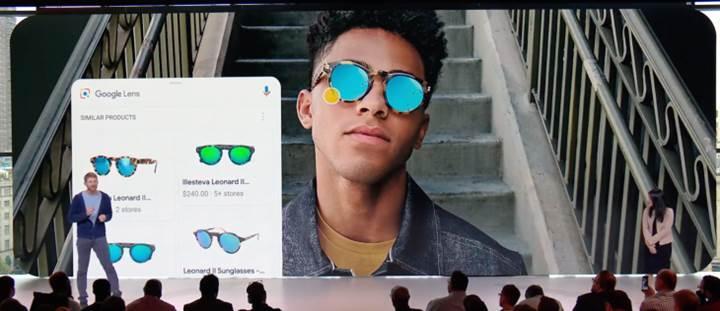 Google, Lens'i Pixel 3 ve 3 XL'in kamerasına entegre etti