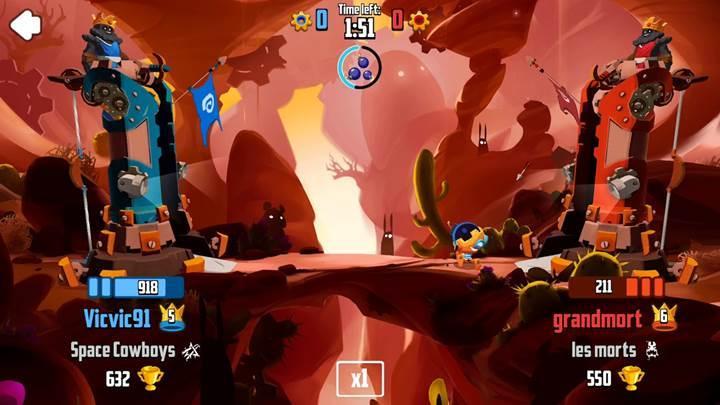 Angry Birds ve Clash Royale karışımı Badland Brawl indirmeye sunuldu