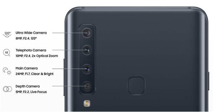 Samsung'un ilk 4 arka kameralı cihazı Galaxy A9 (2018) Geekbench'te görüntülendi