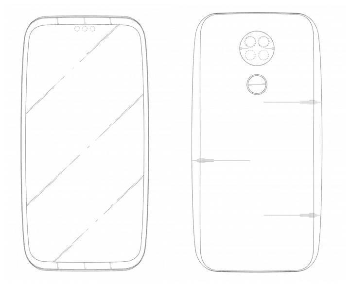 LG'den yedi kameraya sahip kavisli bir akıllı telefon geliyor