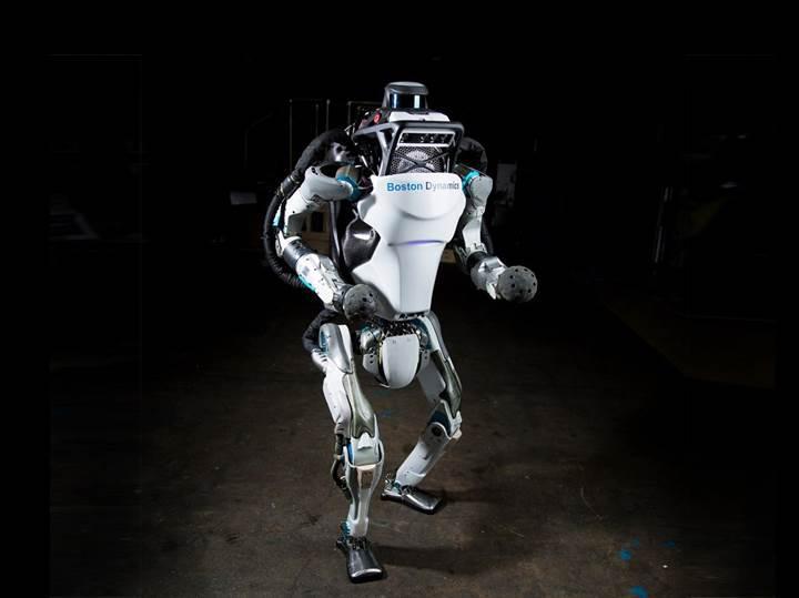 Boston Dynamics'in insansı robotu Atlas artık çok daha hızlı