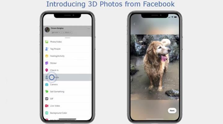 Facebook'ta yapay zekâ destekli 3D fotoğraf dönemi başladı