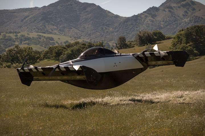 Lisans gerektirmeyen kişisel hava aracı BlackFly, gelecek yıl satışa sunulacak