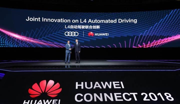 Audi ve Huawei otonom araç üretimi için güçlerini birleştirdi