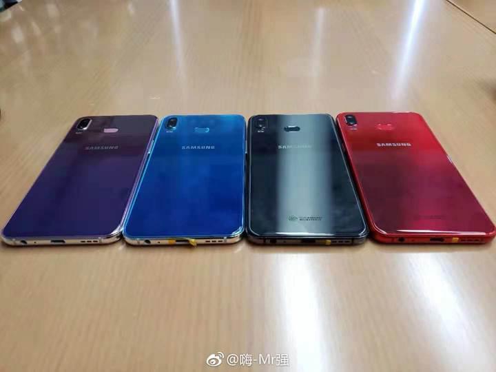 Samsung'un ilk fason üretim telefonunun görüntüleri internete düştü