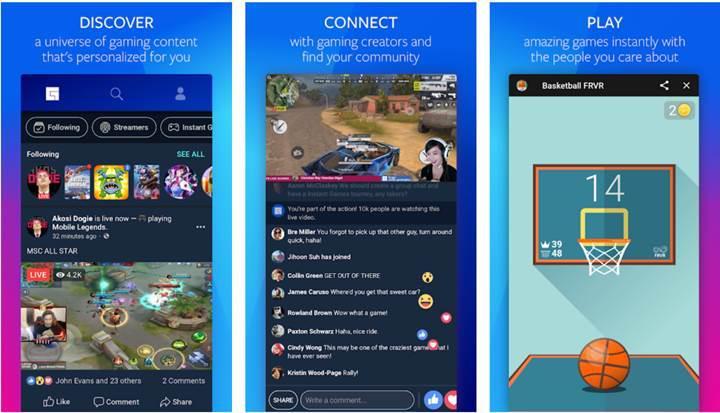 Facebook Gaming Hub beta sürecine başladı