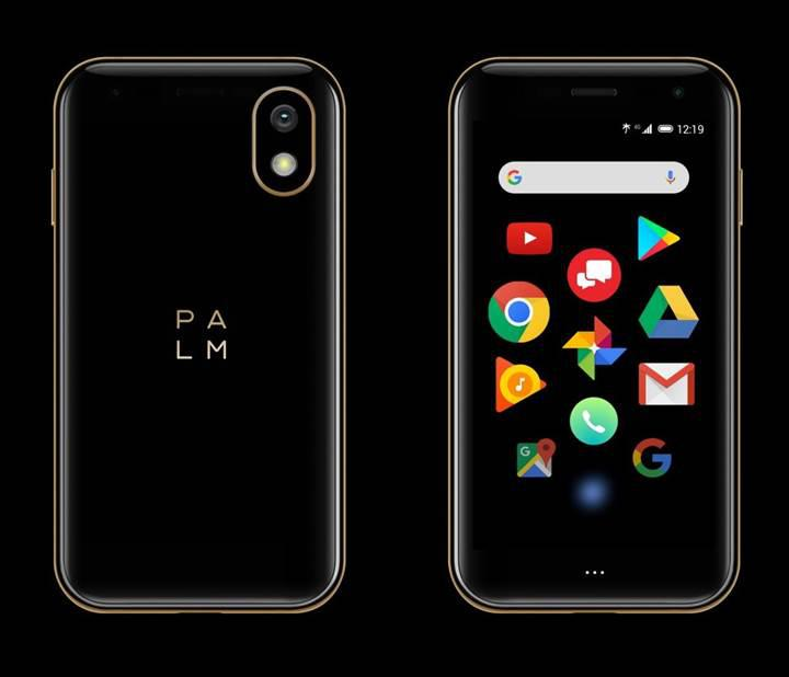 Palm kredi kartı büyüklüğünde bir Android telefon duyurdu