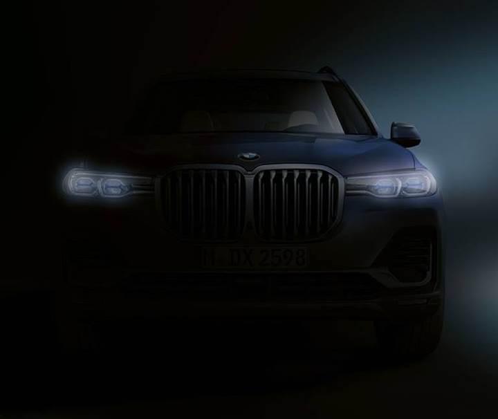 2019 BMW X7'nin ilk teaser görüntüsü yayınlandı