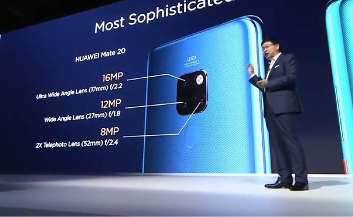 Huawei Mate 20 tanıtıldı: İşte özellikleri ve fiyatı