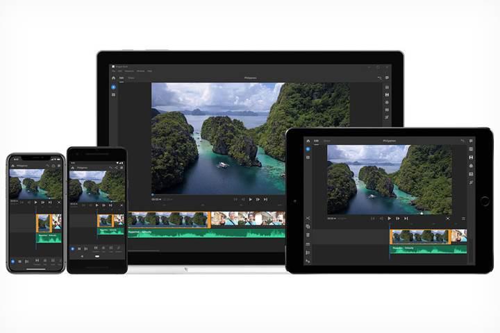 Hızlı video düzenleme yazılımı Adobe Premiere Rush CC duyuruldu