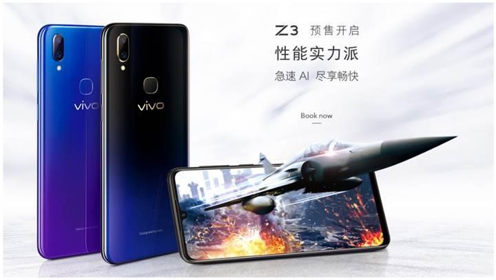 Dual Turbo teknolojili Vivo Z3 duyuruldu