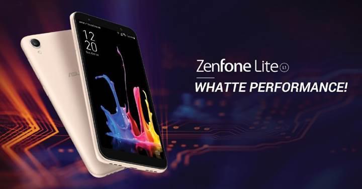 Asus ZenFone Lite L1 ve ZenFone Max M1 duyuruldu