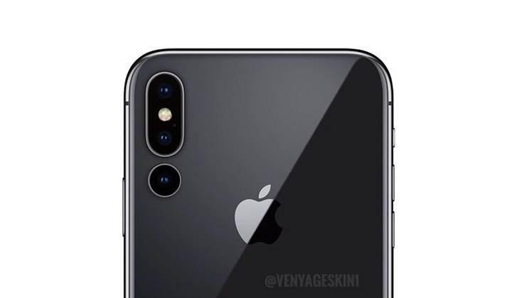 2019 model iPhone Max, 3 arka kameraya sahip olabilir