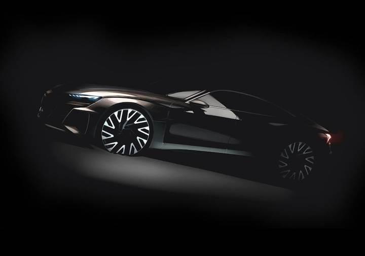 Tesla Model S'e sağlam rakip geliyor: Audi e-tron GT